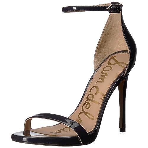 High Heel Patent Leather Navy Blue  Amazon.com