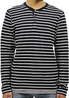 [スコッチアンドソーダ] SCOTCH&SODA 正規販売店 メンズ 長袖Tシャツ ボーダー LONGSLEEVE GRANDAD TEE LAYER 145493 0218 63408 COMBO B (コード:4130723942)