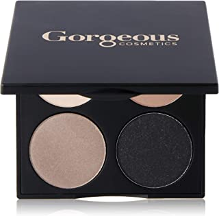 Gorgeous Cosmetics Noir Smokey  Eyes Eyeshadow Palette for Women, 15.2g