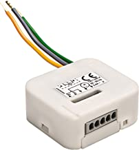 Interruptor de pared con funci/ón de mando a distancia 2 canales. Home Easy HE843
