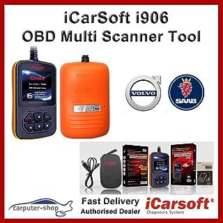 iCarsoft i906 - Escáner multisistemas para diagnóstico de Volvo/Saab OBD