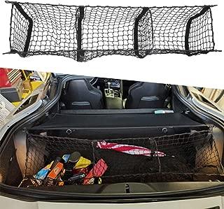 Three Pocket Cargo Net Trunk Cargo Organizer Storage Bag For C7 Corvette 2015 2016 2017 2018