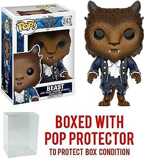 Funko Pop! Disney: Beauty & The Beast - The Beast Vinyl Figure (Bundled with Pop BOX PROTECTOR CASE)