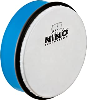 Nino Percussion 6-Inch ABS Hand Drum Sky Blue Sky Blue