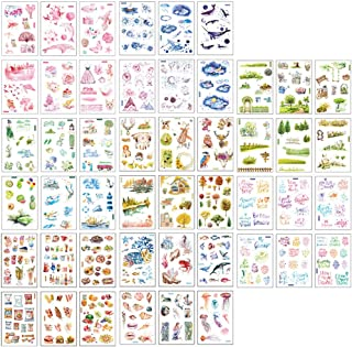 Ritte Scrapbooking Aufkleber, Japanische Papieraufkleber, 48