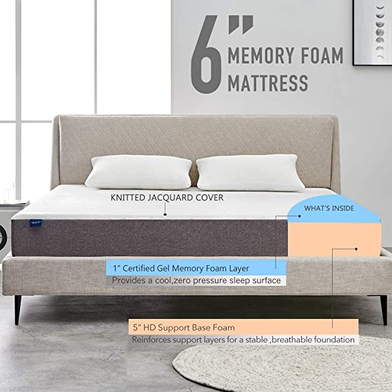 Hypoallergenic Sprung Mattress Double Bed 4'6Ft Bed Matress 135 x ...