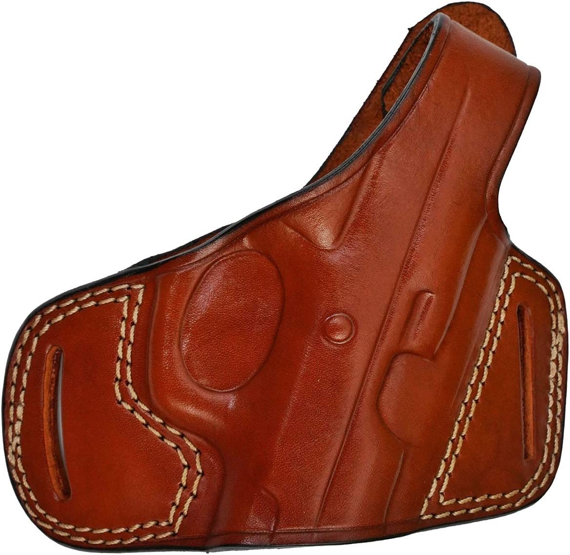 Pancake Leather Holster for Canik specialty shop TP9 - Gen Series Credence Break Thumb