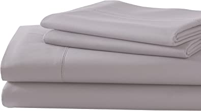 1MFSDBFG-TPE-QN Taupe, Queen Hotel Collection Luxuriously Soft 4-Piece Microfiber Bed Sheet Set Amrapur Overseas