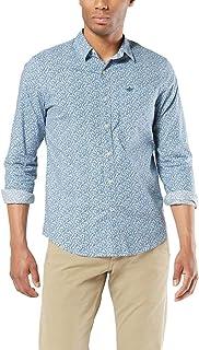 Dockers Long Sleeve Signature Comfort Flex Shirt Camisa de Vestir para Hombre