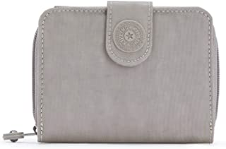 Kipling New Money Small Credit Card Wallet Grey Gris