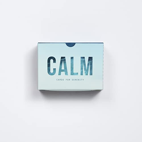 The School of Life - Calm Prompt Cards - Words and images to relieve stress and promote calm.
