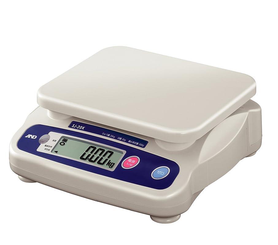 短命広告主ミットA&D 取引証明用 デジタルはかり SJ-20K ?ひょう量:20kg 最小表示:0.02kg(使用範囲:0.2~20kg) 皿寸法:230(W)*190(D)mm 検定付:使用地区制限なし?