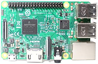 Digishuo Raspberry Pi 3 Model B Board 1G Ram 400MHz Wireless LAN and Bluetooth