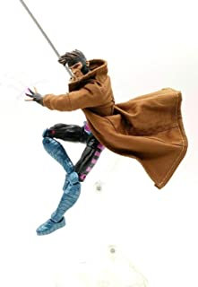 FIGLot 1/12 Brown Wired Trench Coat for Marvel Legends Gambit (Figure NOT Included)
