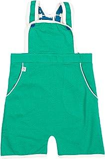 Alba of Denmark Boys Overall Gert Short Crawlers Alpine Green 100% Organic Cotton …