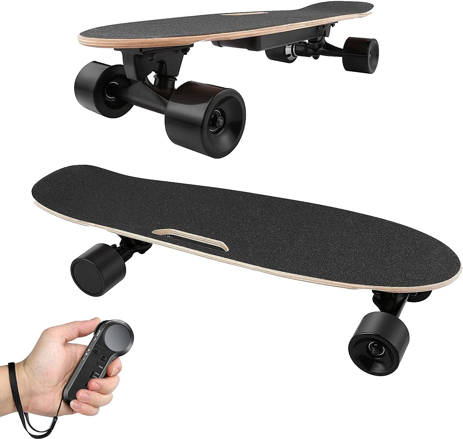 Aceshin Electric Skateboard Detroit Mall unisex with Remote Handheld Wireless Contro