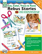 Cut, Color, Trace & Paste Rebus Stories, Grades K - 2