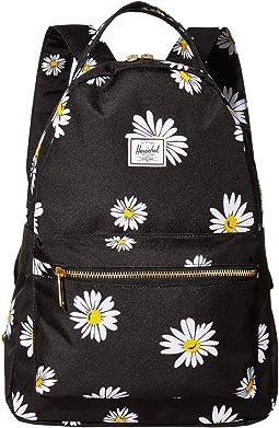 Eastpak Padded Pak R Backpack in Grey Hawaiian Floral Print