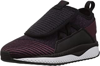 PUMA Baby Tsugi Jun Kids Sneaker, Fig-Shadow Purple-Puma Black, 6 M US Toddler