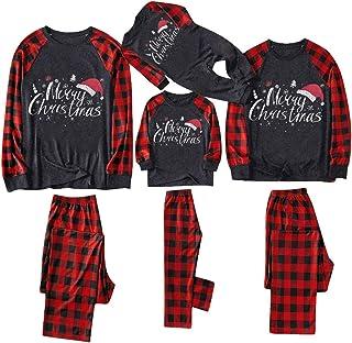 Conjuntos de Pijamas a Juego de la Familia de Navidad, papá, mamá, niño, bebé, Dibujos Animados, Ropa de Dormir Impresa, Conjuntos de Homewear