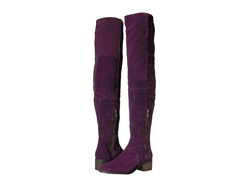 Free People Everly Tall Boot (Purple) Women