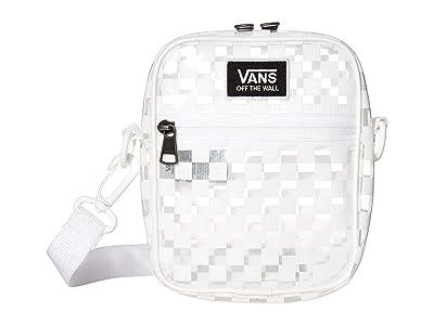 Vans Street Ready Clear Crossbody (White/Checkerboard) Handbags