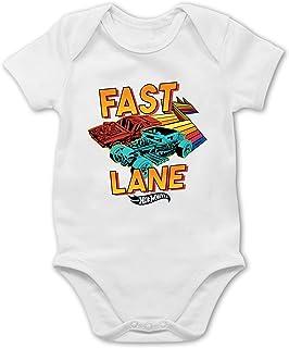 Shirtracer Hot Wheels Baby - Fast Lane - Baby Body Kurzarm für Jungen und Mädchen
