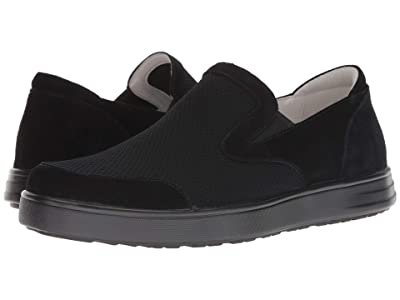 Alegria Bender (Black Suede) Men