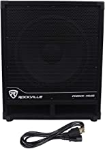 Rockville RBG15S 1600w Active Powered PA Subwoofer w/DSP + Limiter Pro/DJ, 15 inch
