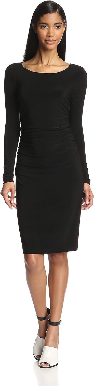 KAMALIKULTURE Cheap mail order shopping Women's San Antonio Mall Long-Sleeve Dress Shirred-Waist