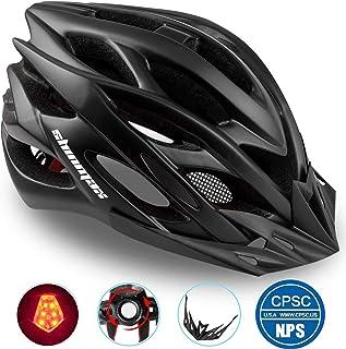 comprar comparacion Shinmax Casco Bicicleta con Visera, Protección de Seguridad Ajustable Deporte Ligera para Montar en Bicicleta Casco de Bic...