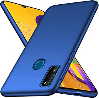 GoldKart All Sides Protection 360* Ulta Slim Matte Hard Back Case Cover for Samsung Galaxy M21 / M30s - (Blue)