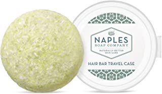Naples Soap Company, 50-75 Use, Solid Shampoo Bar, Gentle, Sulfate Free, Eco-Friendly Haircare Helps Ensure Nourished and Healthy Hair, All Hair Types, Coconut Lime, 2.25 oz.