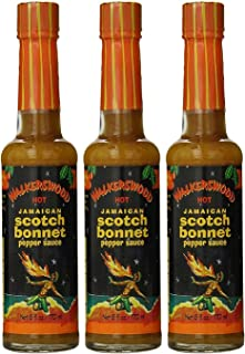 Walkerswood Scotch Bonnet Hot Sauce, 5-Ounce Bottles (Pack of 3)