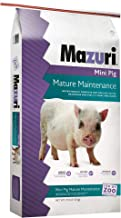 Mazuri Mini Pig Mature Maintenance Food, 25 lb Bag
