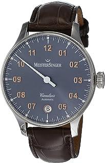 Meistersinger Circularis Analog Grey Dial Men's Watch-CC927G