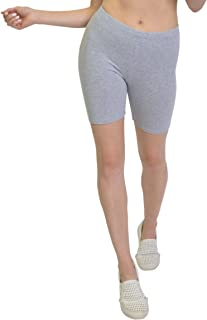 Bike Shorts for Girls and Women   Women's Athletic Workout Shorts   Cotton   SM-5XL