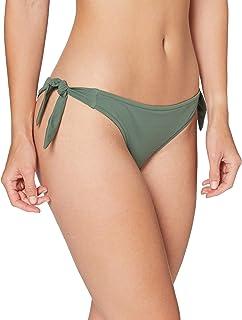 Marchio Amazon - Iris & Lilly Slip Bikini con Lacci Donna