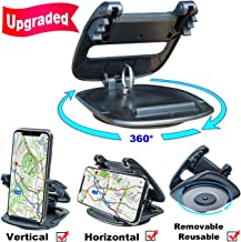 Cell Phone Holder for Car Dashboard, (2nd Gen Plus) Car Phone Mount Silicone Dash Pad, GPS Holder Car Phone Mounting in Pickup Truck Compatible iPhone Xs Max XR X 6S 7 8 Plus Samsung Galaxy Note 9 S9