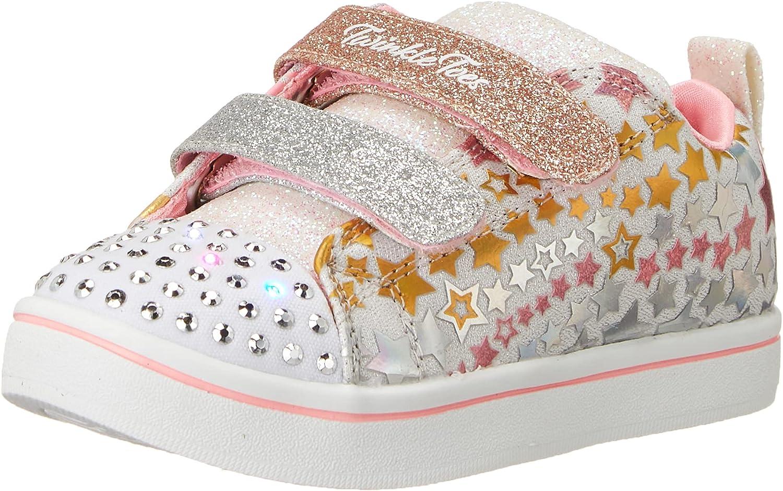 Skechers Unisex-Child Sparkle Rayz-Star Blast Sneaker