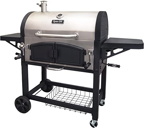 Dyna-Glo-DGN576SNC-D-Dual-Zone-Premium-Charcoal-Grill
