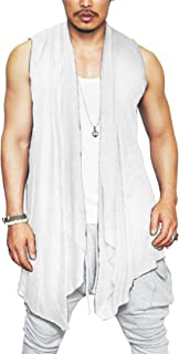 white sleeveless vest outfit