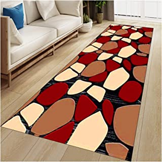 WX&QIANG Hallway Runners Modern Soft Carpet Runner Rug Non-Slip Washable Welcome Large Door Mat Stair Narrow Rugs Width 60...