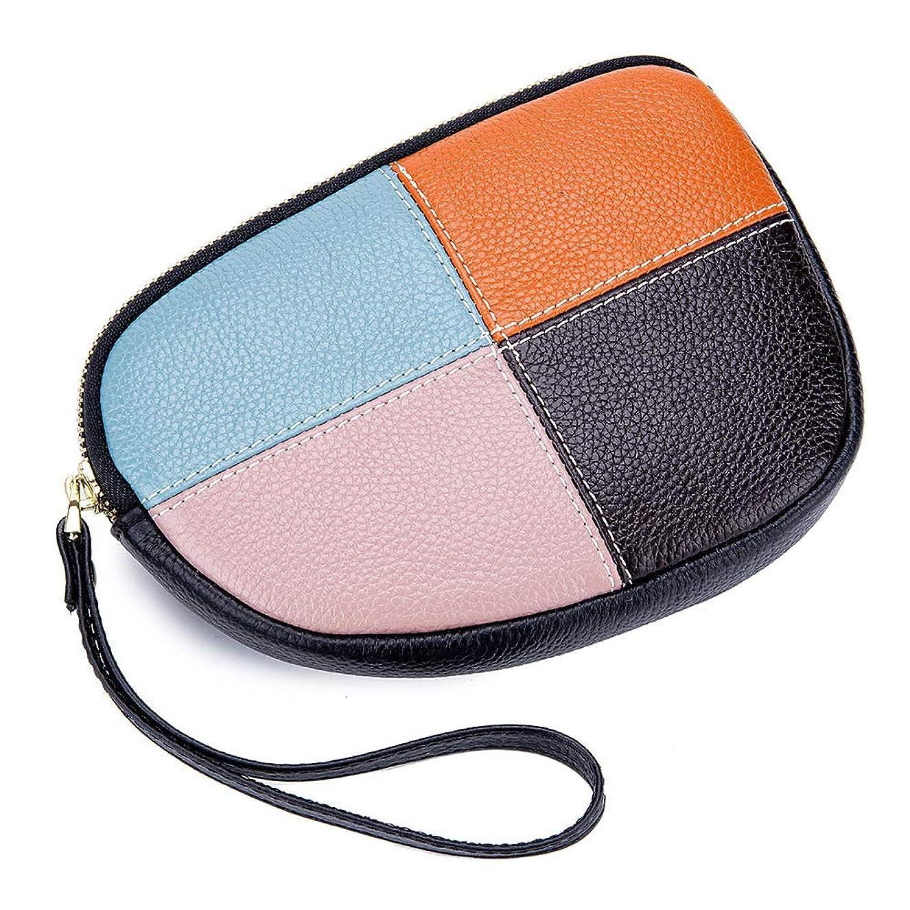 供給推測するアンデス山脈小銭入れ レディース 婦人 本革 チェック ミニ財布 ハンドバッグ