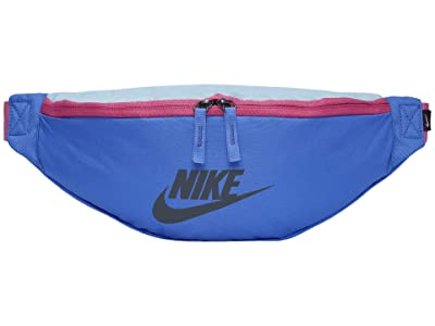 Nike Heritage Hip Pack (Sapphire/Cosmic Fuchsia/Iron Grey) Bags