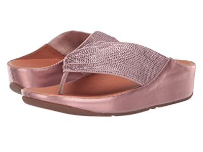 FitFlop Twiss Crystal (Oyster Pink) Women