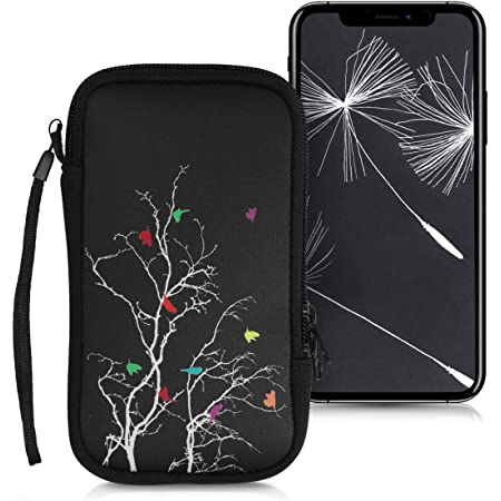 Kwmobile Handytasche Für Smartphones L 6 5 Neopren Elektronik