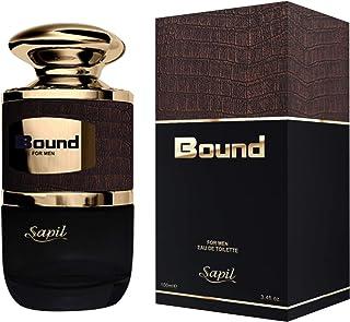 Sapil Bound for Men 100ml / 3.4 Fl Oz | Fragrance for Men | Spicy & Woody Fragrance | Long Lasting
