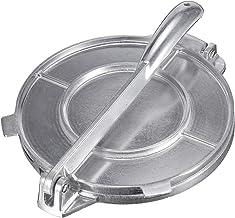 qwertyu Presse à tortilla en aluminium moulé de 20,3 cm pour tortilla