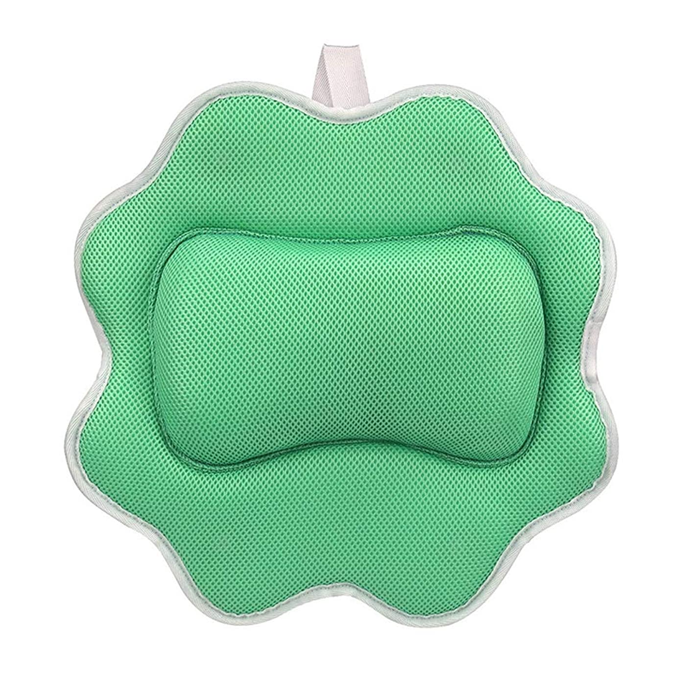 蘇生する通知するモーターサンフラワーバスピロースパマッサージ枕用アップグレード5 dエアーメッシュ技術あなたの肌と首を保護、洗濯機で洗えます